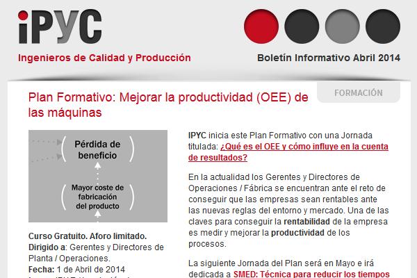 Boletín IPYC Abril 2014
