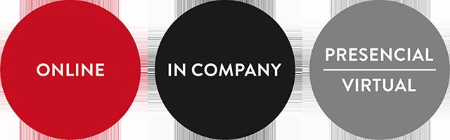Formación Online, In Company, Workshop