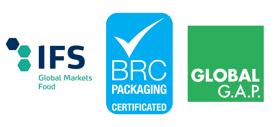 Normas IFS Global Markets Food, BRC Packaging y Global G.A.P.