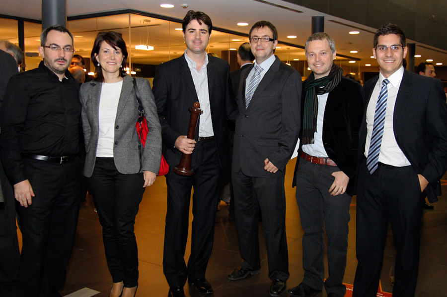 IPYC recibe el Premio Alfil