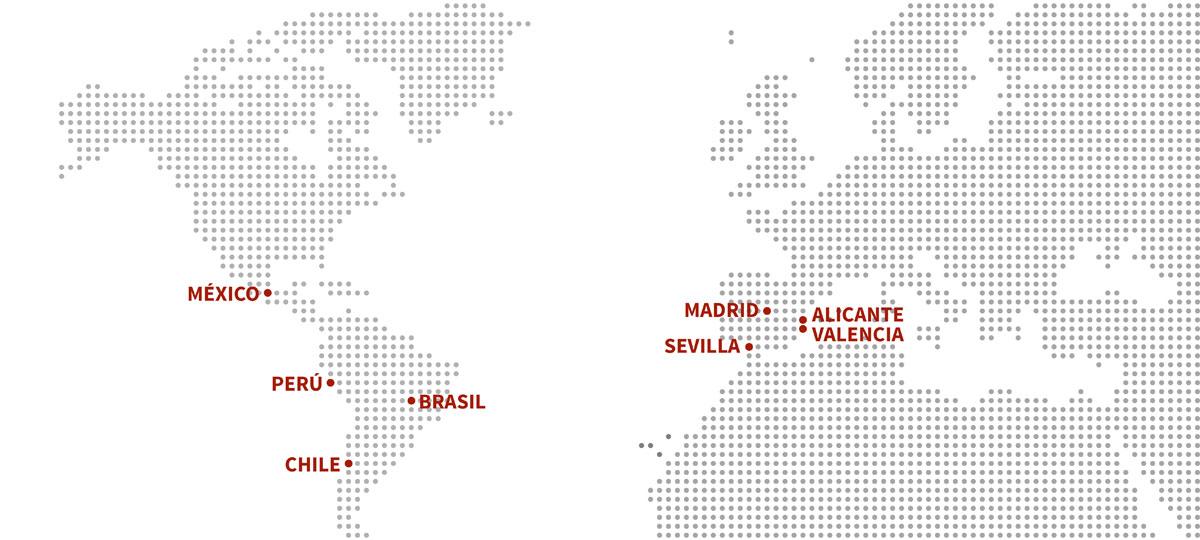Mapa mundo IPYC