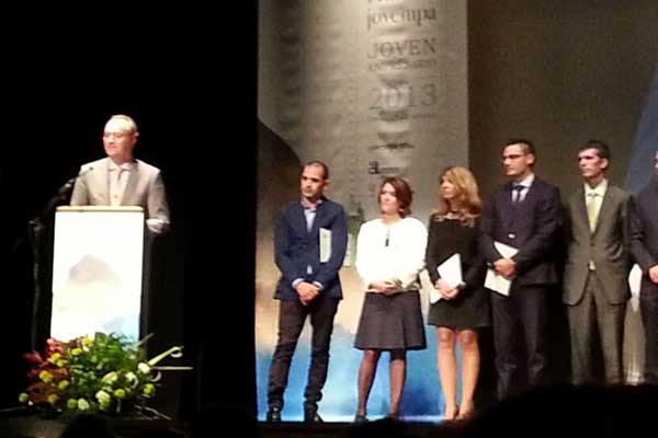 Entrega de premios Jovempa 2013