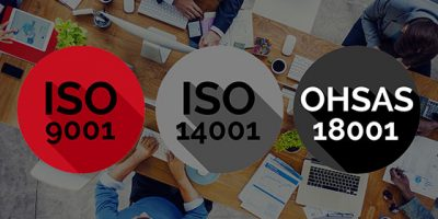 ISO 9001:15, ISO 14001:15, OHSAS 18001