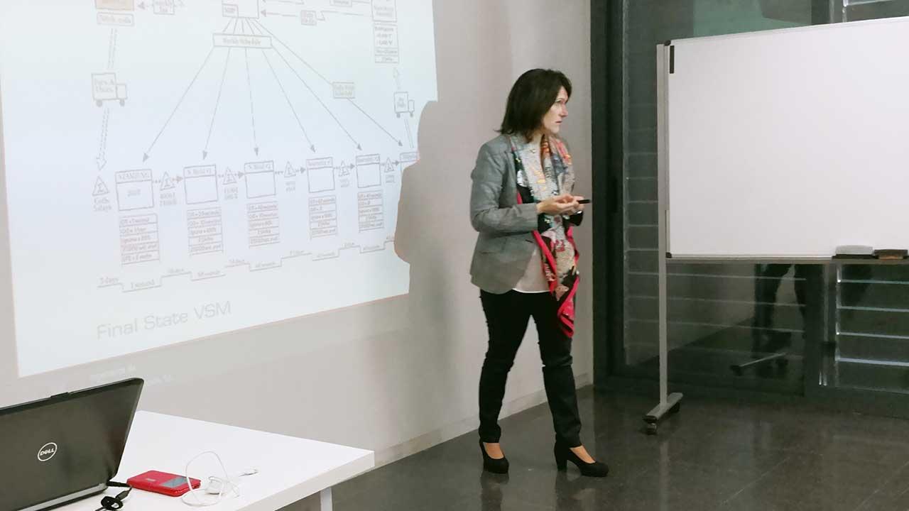 Jornada Cómo aplicar la metodología Lean Manufacturing a la creación de un plan de producción: una visión práctica
