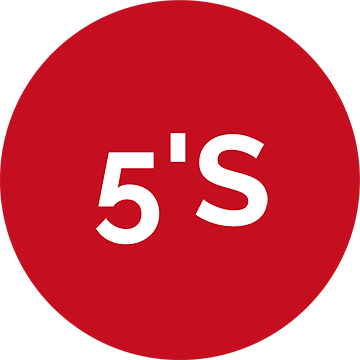 5's (Cinco Eses)