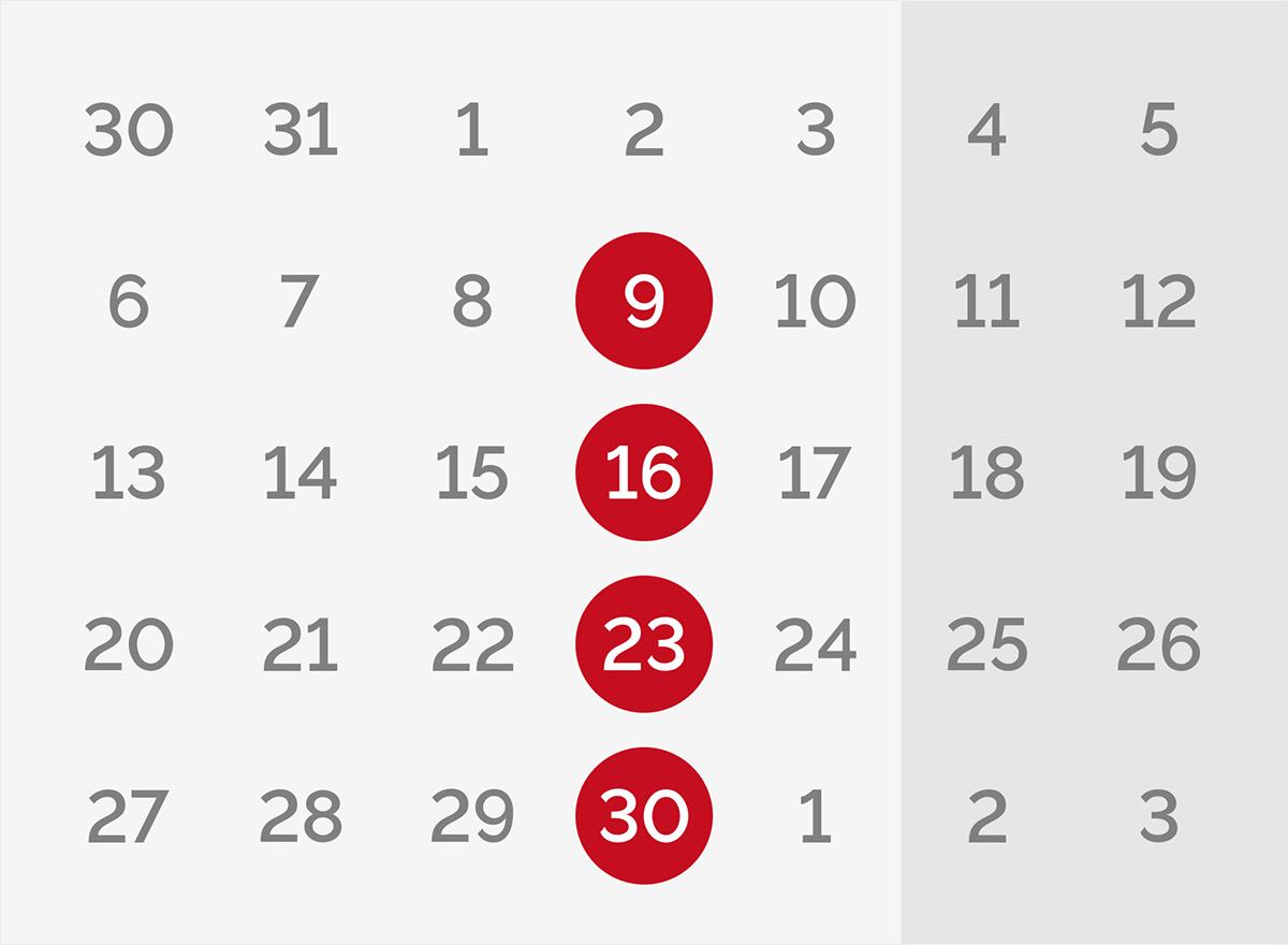 Calendario de webinars IPYC en Abril