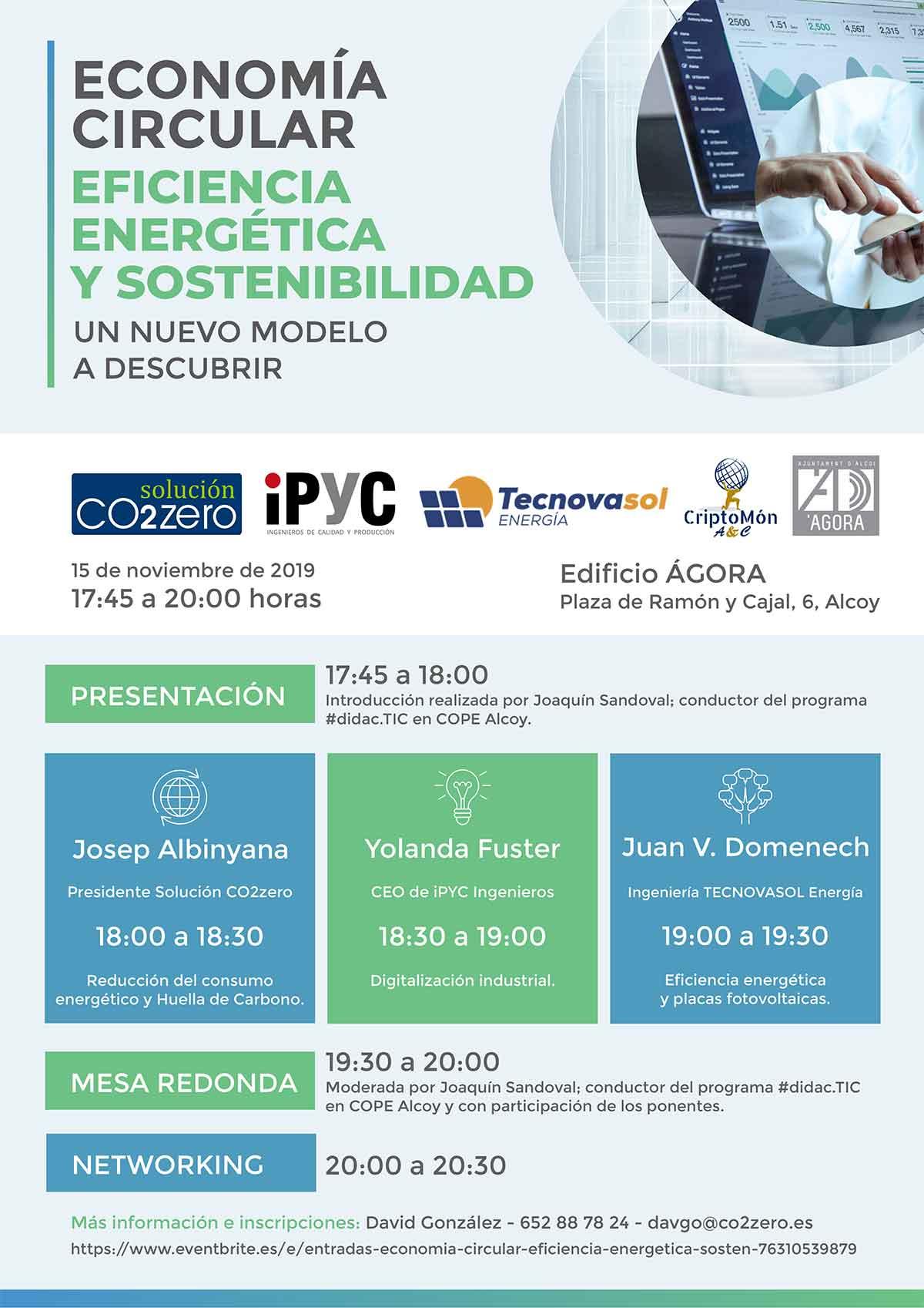 Economía Circular, Eficiencia Energética y Sostenibilidad