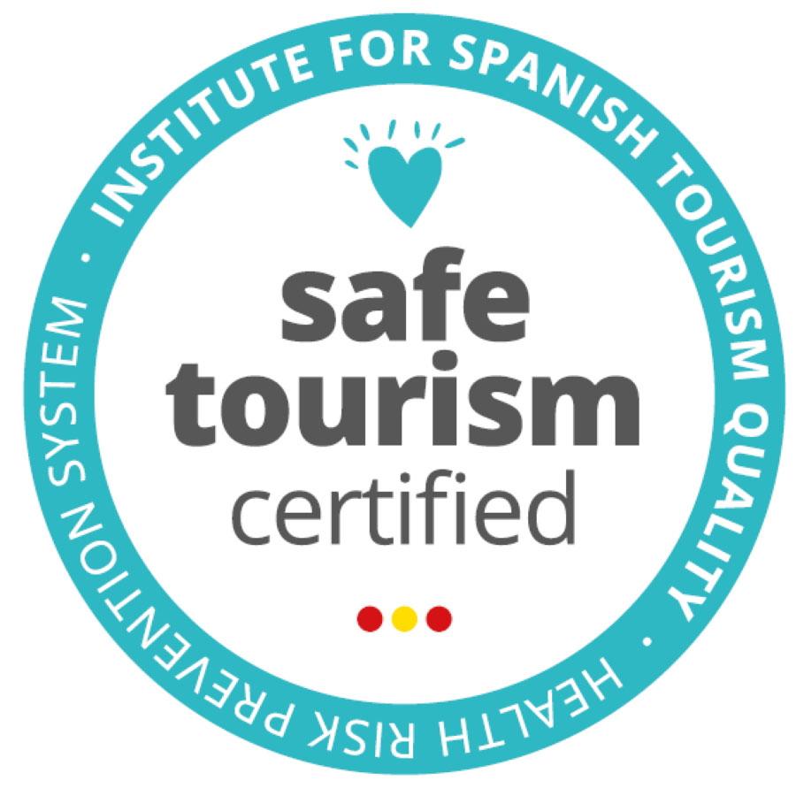 Certificado ICTE - Safe Tourism Certified