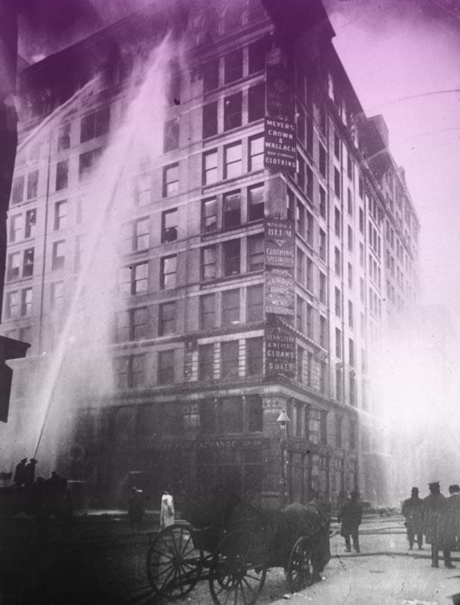 El incendio de Triangle Shirtwaist. Historia del 8M