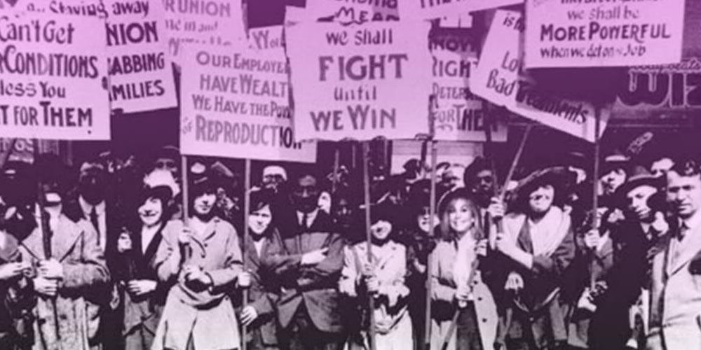 La trágica historia detrás de la celebración del día internacional de la mujer 8-M