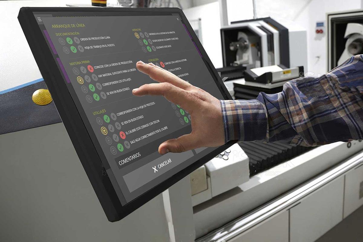 Digitalización industrial. Parámetros de fabricación en doeet