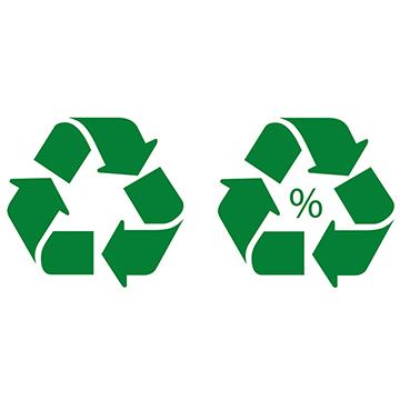 ISO 14021. Símbolo de reciclable